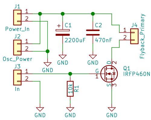 Tefatronix | High voltage transformer driver (555 based)