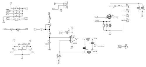 Load board schematic diagram