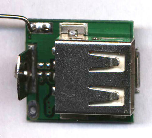 Electronics (bottom side)